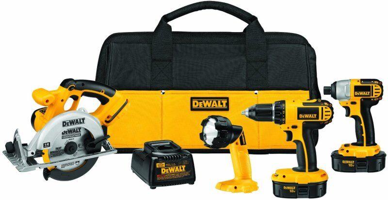 Dewalt cordless kit