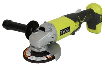 Full review of the Ryobi cordless angle grinder