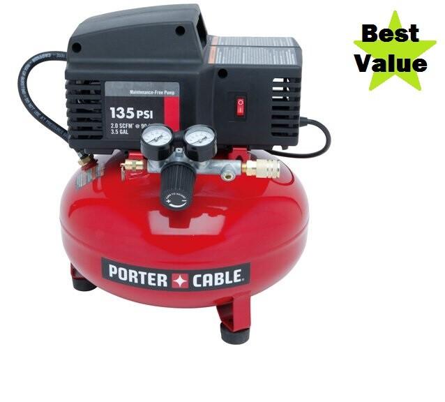 porter cable pancake air compressor