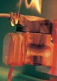 Burning plug socket