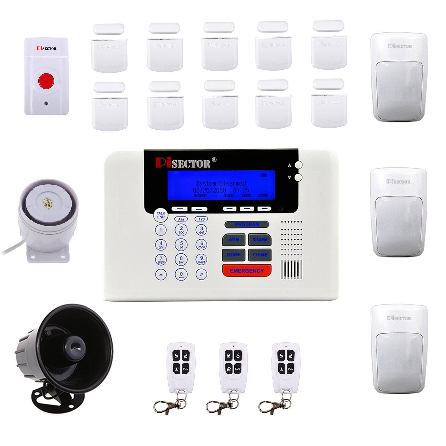 Home security system reviews pisector security solutioingenieria Gallery