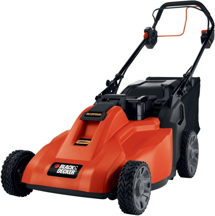 Black & Decker 1936 Cordless mower review