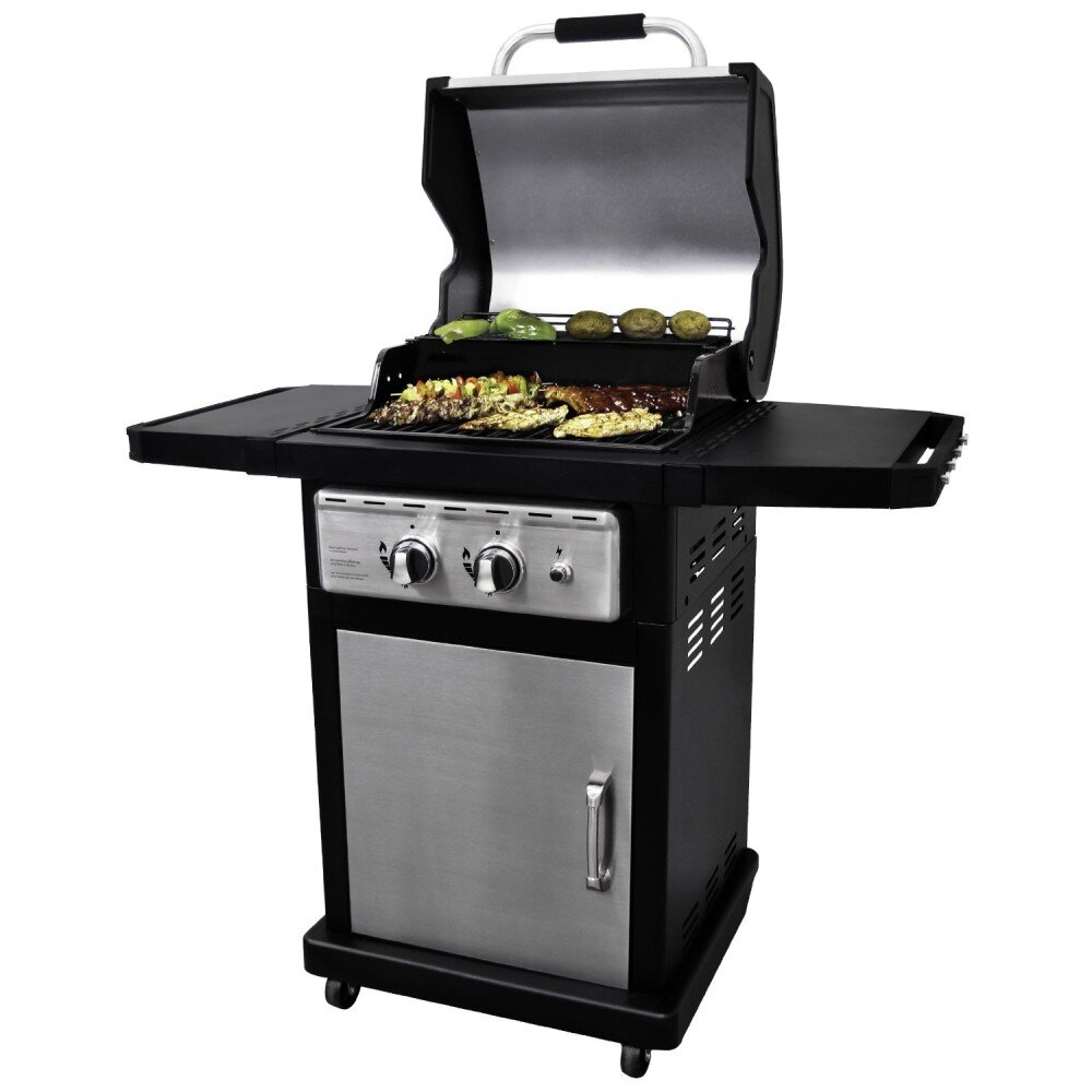 Review of the Dyna Glow Black & Stainless gas grill