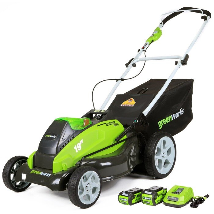 GreenWorks 25223 Cordless lawn mower review