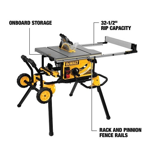 Dewalt Dwe 7491rs Table Saw