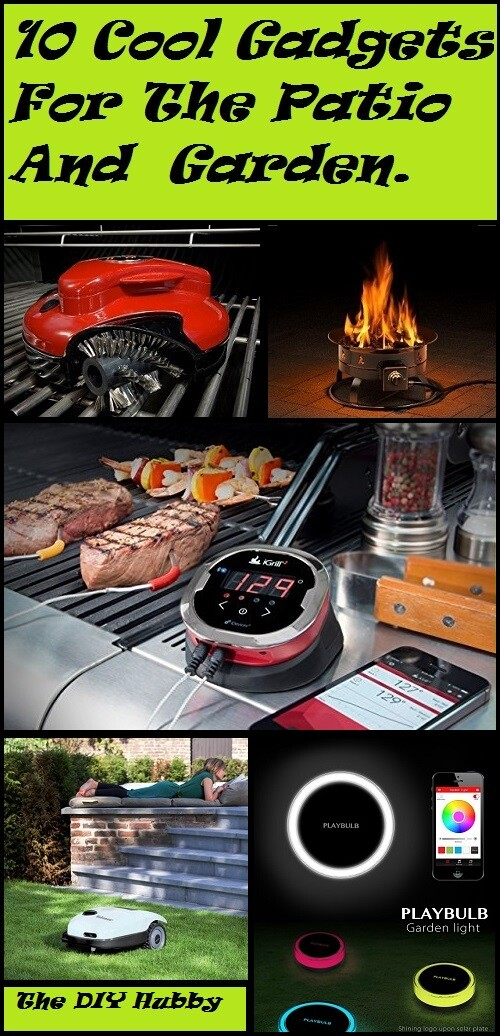 cool gadgets for the patio and garden