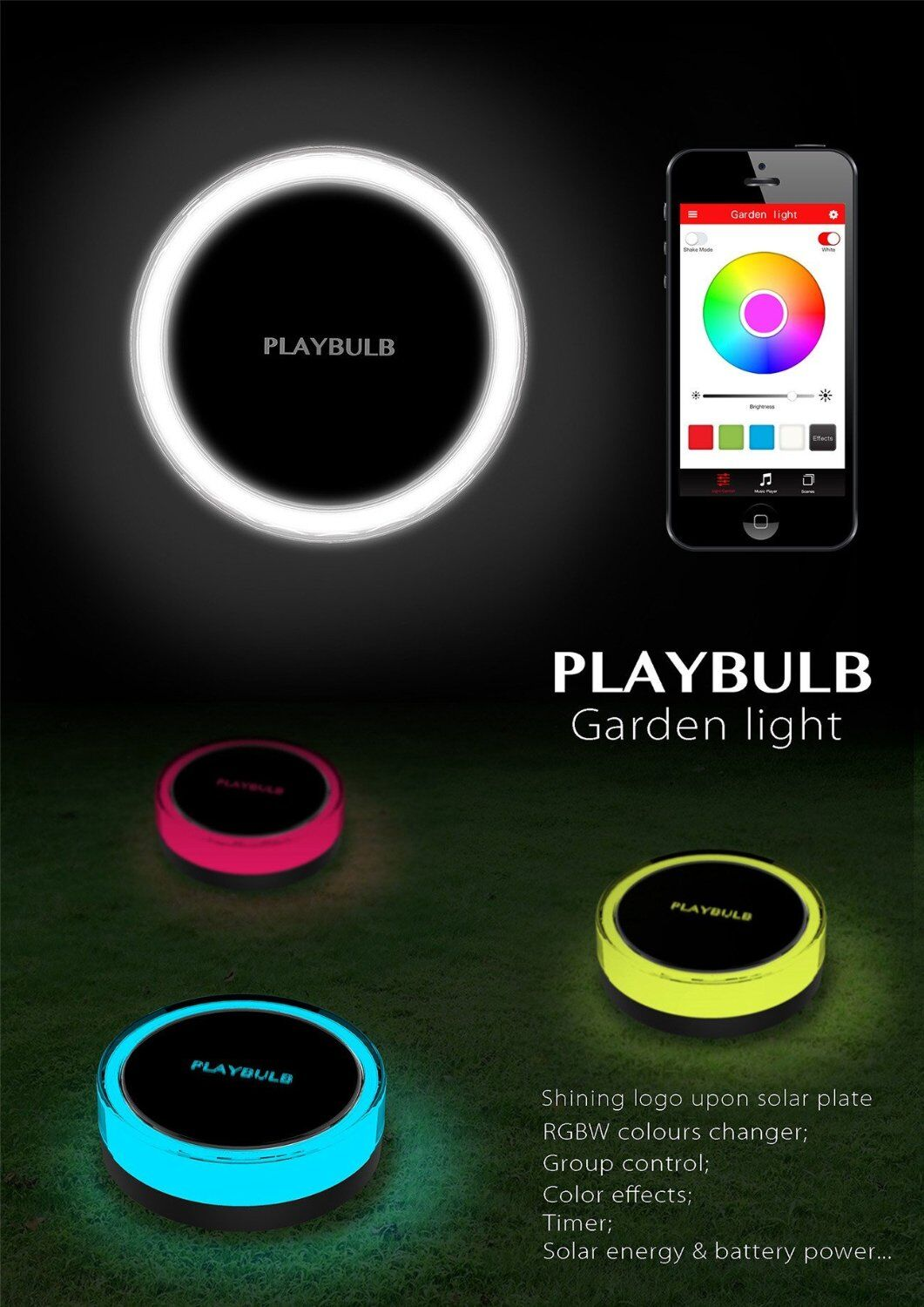 playbulb solar lights