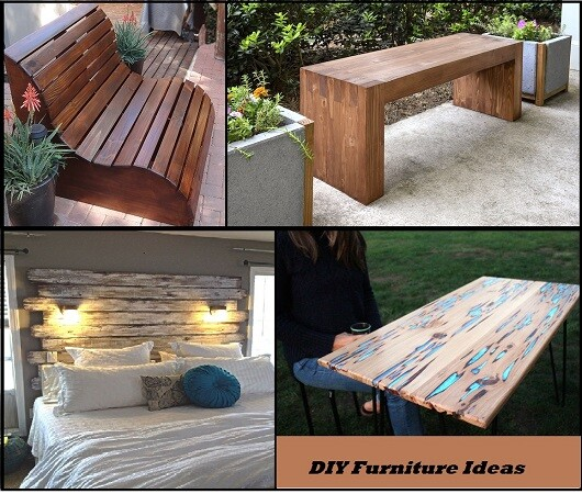 15 Awesome Diy Furniture Ideas