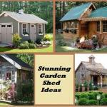 15 Stunning garden shed ideas