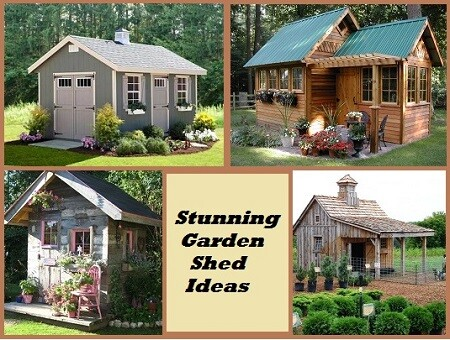 15 Stunning Garden Shed Ideas on inside potting sheds designs, above ground pool landscape designs, stone signs and designs, garden gate designs, subdivision entry designs, gardening art designs,