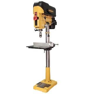 Deep throat precision benchtop drill press