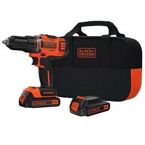 Black & Decker BDCDHP 220 SB-2 cordless drill