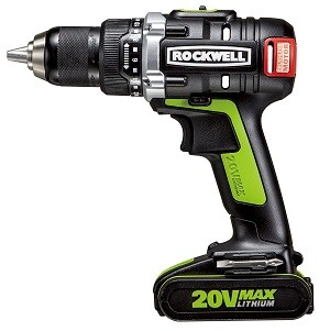 Rockwell 20 Volt cordless drill