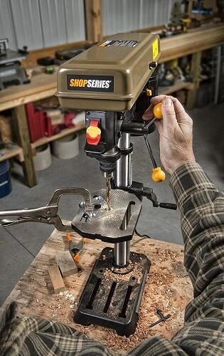 Rockwell Shop Series RK7033 10 Inch Drill Press